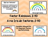 Bilingual Spanish English Factor Rainbows