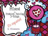 Bilingual (Spanish & English) Feb. Math Problem Solving
