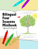 Bilingual Four Seasons of the Year Minibook {Spanish-English}