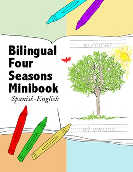 Bilingual Four Seasons of the Year Minibook {Spanish-English}