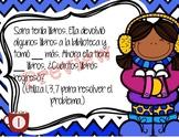 Bilingual (Spanish & English) Winter Math Problem Solving