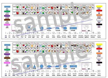 Bilingual Spanish/English name plates
