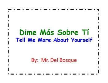 Bilingual Spanish QR CODE Scavenger Hunt Back to School
