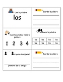 Bilingual-Spanish Sight Word Practice 2