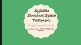 Bilingual Spanish Syllable Structure Speech Treatment