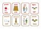 Bilingual Spanish/English  opposites  flashcards .23 pairs .6 pages .