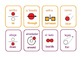 Bilingual Spanish/English  particles  flashcards .20 Flashcards .