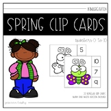 Bilingual Spring Clip Cards [Numbers 0-10]