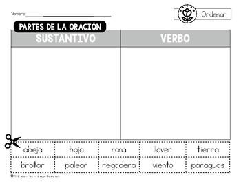 Bilingual Spring Grammar Sorts