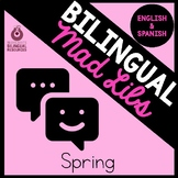 Bilingual Spring Mad Libs