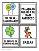 Bilingual St. Patrick's Word Cards