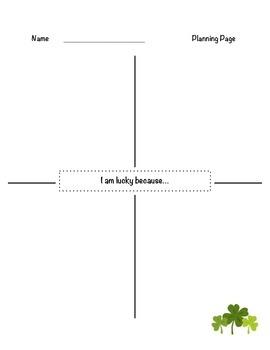 Bilingual St. Patrick's Day Writing Activity