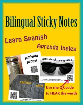 Bilingual Sticky Notes