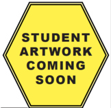 Bilingual Student Artwork and Art Installation Signs