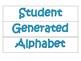 Bilingual Student Generated Alphabet Abecedario Generado p