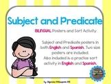 Bilingual Subject and Predicate-SUJETO Y PREDICADO