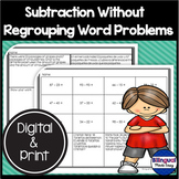 Bilingual Double Digit Subtraction Without Regrouping in E