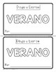 Bilingual Summer Draw & Write with Word Cards