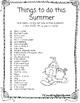 Bilingual Summer Writing Prompts & Homework Bundle (English and Spanish)