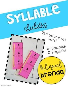 Bilingual Syllable Slider