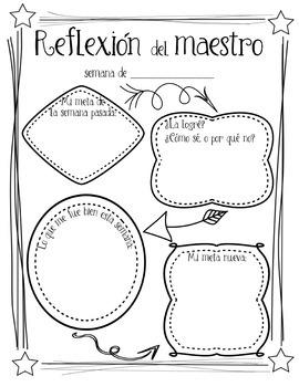Bilingual Teacher Reflection & Goals