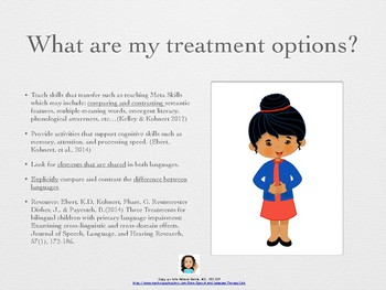 Bilingual/Telepractice: Compare and Contrast Big Visuals