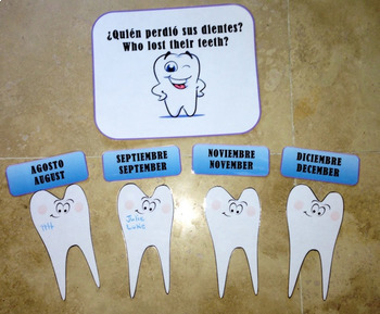 Bilingual Tooth Tally Display