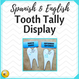 Tooth Tally Display (Spanish & English)