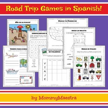 Bilingual Travel Games