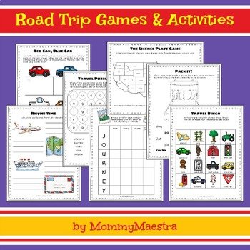 Bilingual Travel Games