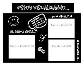 Bilingual Visualizing/ Envisioning Graphic Organizer