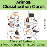 Bilingual Viviparous And Oviparous Classification 3 Part Cards Montessorilove