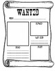 Bilingual Wanted Poster