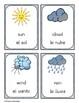 Weather - El Tiempo FLASHCARDS (Bilingual English & Spanish)