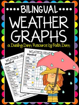 Bilingual Weather Graphs
