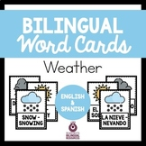 Bilingual Weather Word Cards