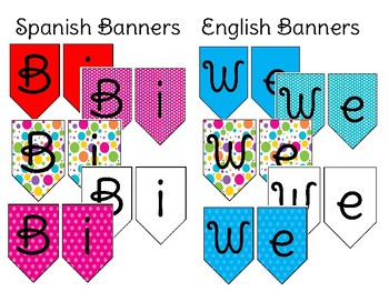 Bilingual Welcome Banner
