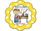 Bilingual What To Do Next Bilingual Chart-Polka Dot Theme (Yellow)