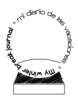 Bilingual Winter Break Journal (English & Spanish)
