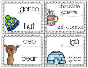 Bilingual Winter Write The Room