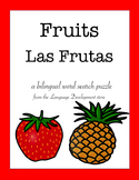Bilingual Word Search - Fruits / Las Frutas (English/Spanish)