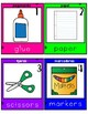 Bilingual Write The Room School Supplies