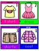 Bilingual Write the Room: Clothes