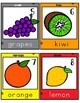 Bilingual Write the Room Fruits