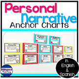 Writing Anchor Chart Posters Personal Narrative In English