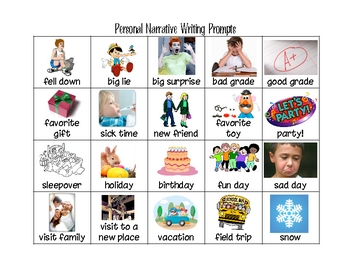 Bilingual Writing Prompts for Narrative, Expository, and Perusasive