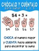 Bilingual addition strategy: Counting on (Estrategia para