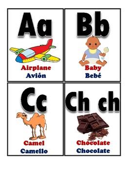 Bilingual alphabet / Alfabeto bilingüe