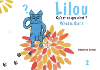 Bilingual book (English-French) for children from 3 to 7 years old - Lilou2