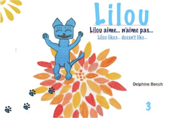 Bilingual book (English-French) for children from 3 to 6 years old - Lilou3